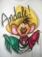 tshirt airbrushed